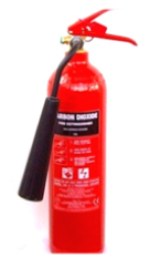 Carbon Dioxide (CO2) Fire Extinguisher classed BC.